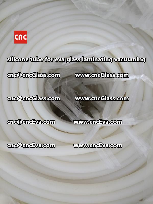 Silicone tube  for vacuum pump laminating eva film interlayer (10)