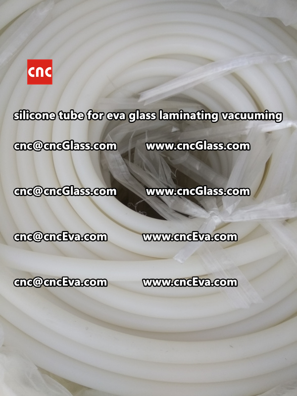 Silicone tube  for vacuum pump laminating eva film interlayer (11)