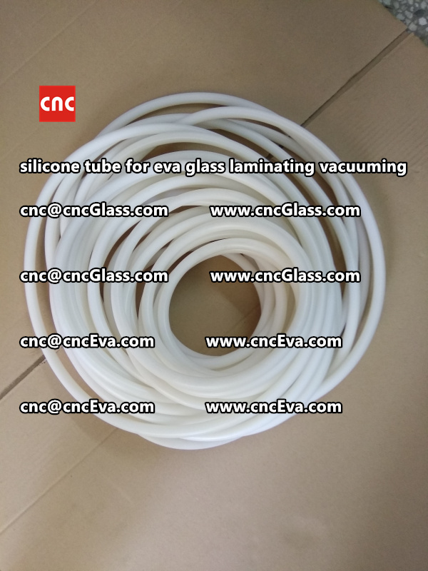 Silicone tube  for vacuum pump laminating eva film interlayer (13)