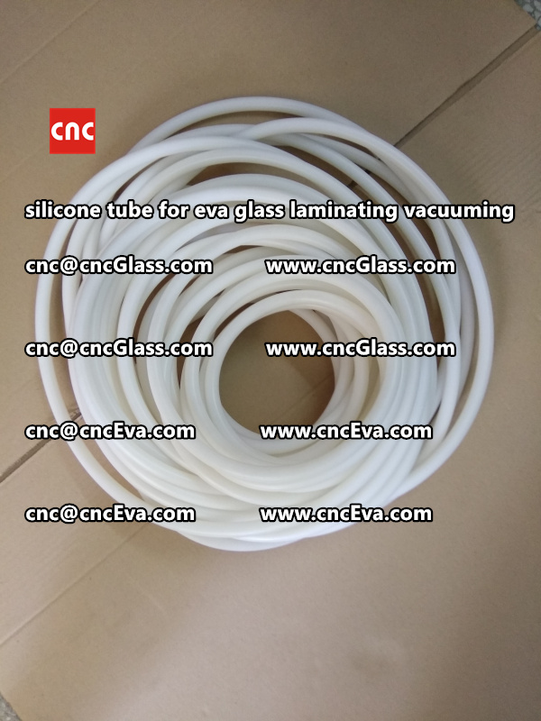 Silicone tube  for vacuum pump laminating eva film interlayer (14)
