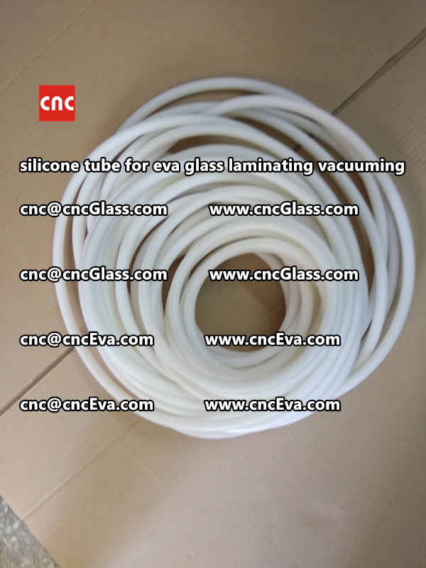 Silicone tube  for vacuum pump laminating eva film interlayer (16)