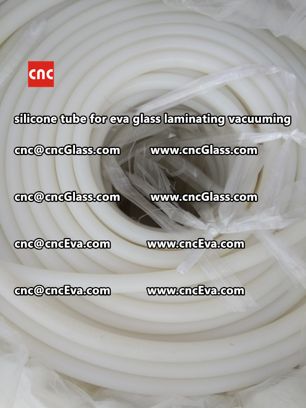 Silicone tube  for vacuum pump laminating eva film interlayer (5)
