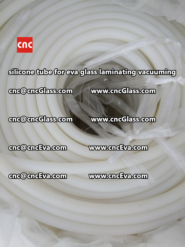 Silicone tube  for vacuum pump laminating eva film interlayer (6)