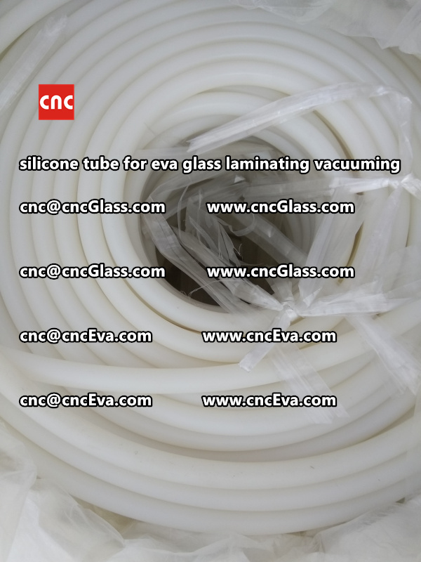 Silicone tube  for vacuum pump laminating eva film interlayer (7)