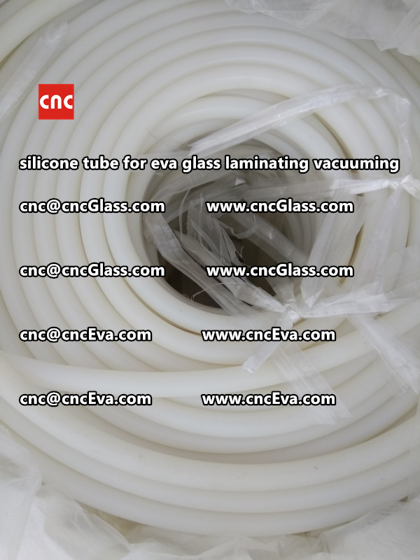 Silicone tube  for vacuum pump laminating eva film interlayer (8)