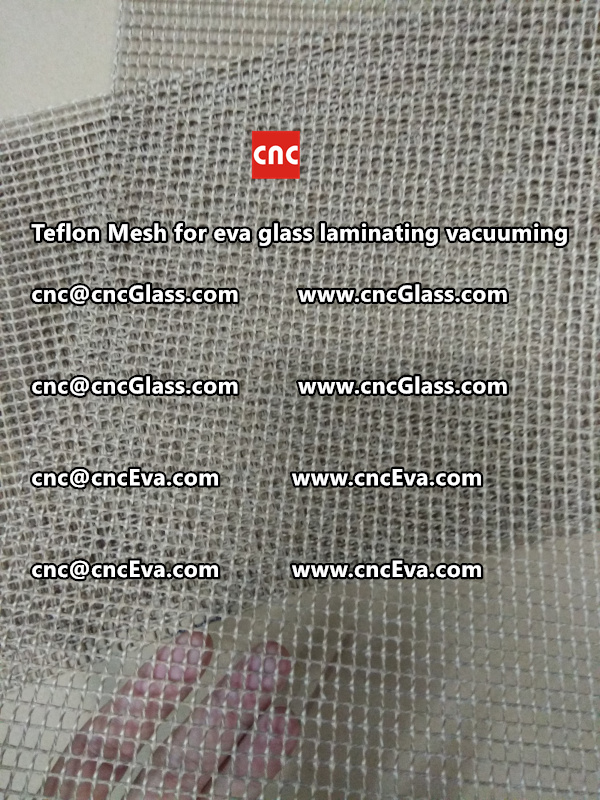 mesh for helping vacuuming of glass laminating (2)