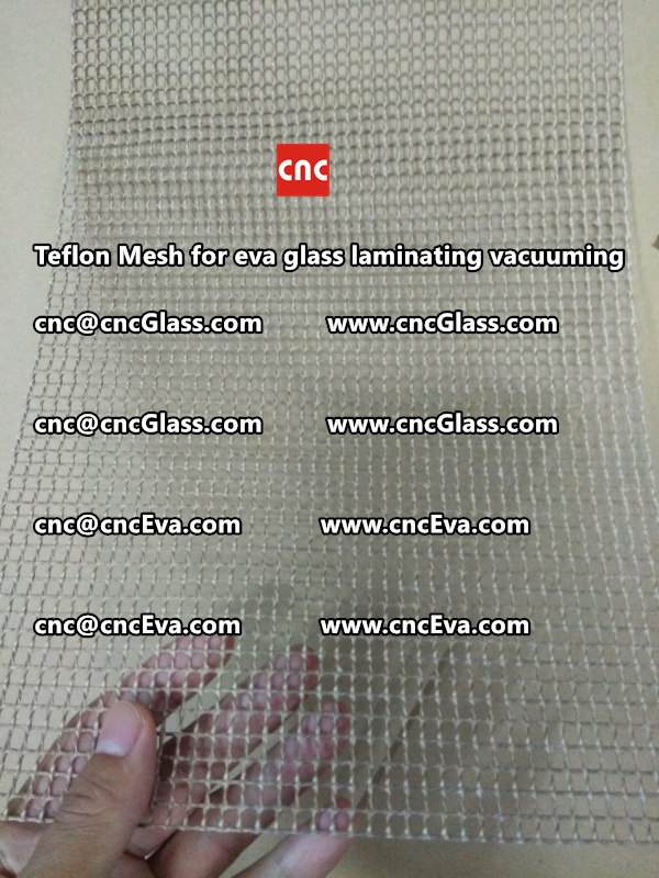 mesh for helping vacuuming of glass laminating (5)