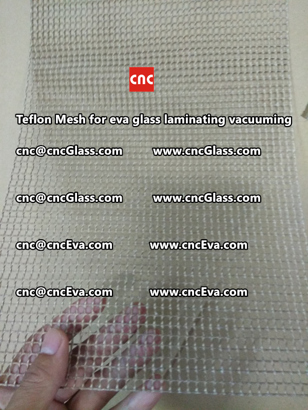 mesh for helping vacuuming of glass laminating (6)