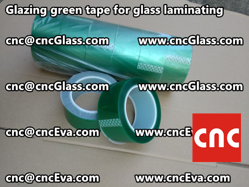 vacuum green tape for glazing (4)