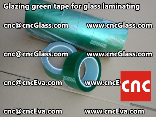 vacuum green tape for glazing (6)