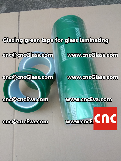 vacuum green tape, for laminating glass (4)