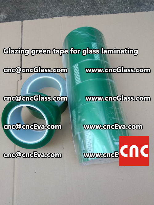 vacuum green tape, for laminating glass (5)